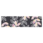 Winter Foliage Satin Scarf (Oblong)