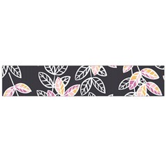 Winter Foliage Flano Scarf (large)