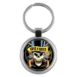 gnr Key Chain (Round)