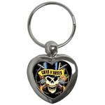 gnr Key Chain (Heart)