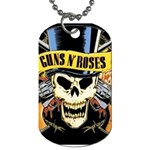 gnr Dog Tag (One Side)