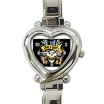 gnr Heart Italian Charm Watch