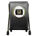 gnr Pen Holder Desk Clock