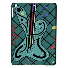 Blue Guitar Ipad Air Hardshell Cases by Valentinaart