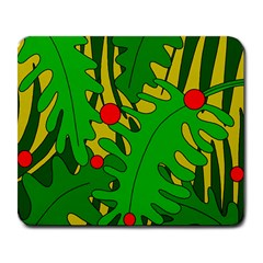 In The Jungle Large Mousepads by Valentinaart