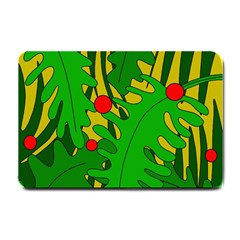 In The Jungle Small Doormat  by Valentinaart