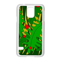 In The Jungle Samsung Galaxy S5 Case (white) by Valentinaart
