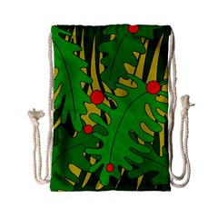 In The Jungle Drawstring Bag (small) by Valentinaart