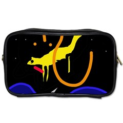 Crazy Dream Toiletries Bags by Valentinaart