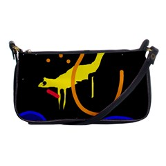 Crazy Dream Shoulder Clutch Bags by Valentinaart