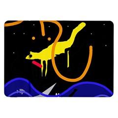 Crazy Dream Samsung Galaxy Tab 8 9  P7300 Flip Case by Valentinaart