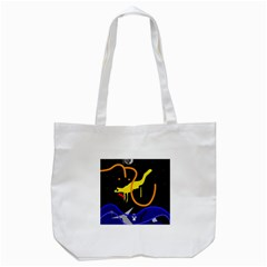 Crazy Dream Tote Bag (white) by Valentinaart