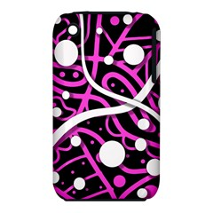 Purple Harmony Apple Iphone 3g/3gs Hardshell Case (pc+silicone) by Valentinaart