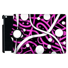 Purple Harmony Apple Ipad 2 Flip 360 Case by Valentinaart