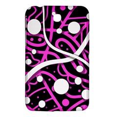 Purple Harmony Samsung Galaxy Tab 3 (7 ) P3200 Hardshell Case  by Valentinaart