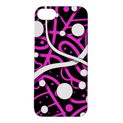 Purple Harmony Apple Iphone 5s/ Se Hardshell Case by Valentinaart