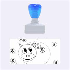 Piggy Bank  Rubber Stamps (medium)  by Valentinaart