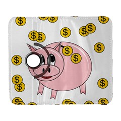 Piggy Bank  Samsung Galaxy S  Iii Flip 360 Case by Valentinaart