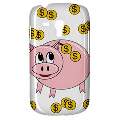 Piggy Bank  Samsung Galaxy S3 Mini I8190 Hardshell Case by Valentinaart