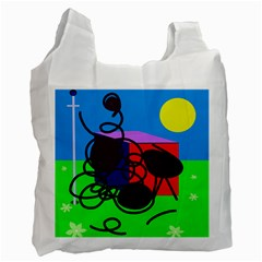 Sunny Day Recycle Bag (one Side) by Valentinaart