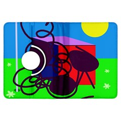 Sunny Day Kindle Fire Hdx Flip 360 Case by Valentinaart