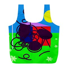 Sunny Day Full Print Recycle Bags (l)  by Valentinaart