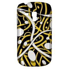 Yellow Movement Samsung Galaxy S3 Mini I8190 Hardshell Case by Valentinaart