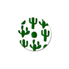 Cactuses Pattern Golf Ball Marker (10 Pack) by Valentinaart