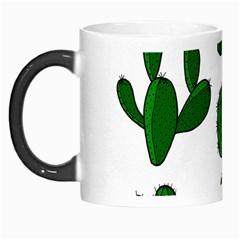 Cactuses Pattern Morph Mugs by Valentinaart
