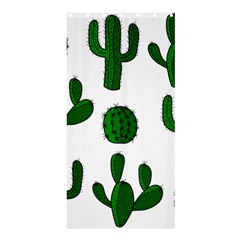 Cactuses Pattern Shower Curtain 36  X 72  (stall)  by Valentinaart