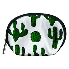 Cactuses Pattern Accessory Pouches (medium)  by Valentinaart