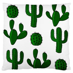 Cactuses Pattern Standard Flano Cushion Case (one Side) by Valentinaart