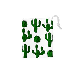 Cactuses Pattern Drawstring Pouches (xs)