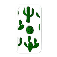 Cactuses Pattern Apple Iphone 4 Case (white) by Valentinaart