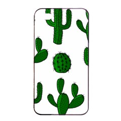 Cactuses Pattern Apple Iphone 4/4s Seamless Case (black) by Valentinaart