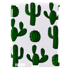Cactuses Pattern Apple Ipad 3/4 Hardshell Case (compatible With Smart Cover) by Valentinaart