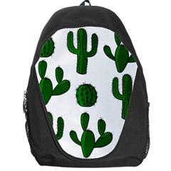 Cactuses Pattern Backpack Bag by Valentinaart