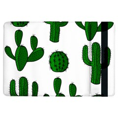 Cactuses Pattern Ipad Air Flip by Valentinaart
