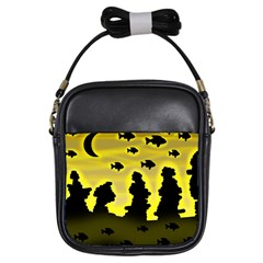 Khazar s dream  Girls Sling Bags by Valentinaart