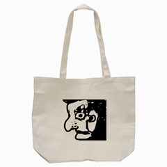 Old Man Tote Bag (cream) by Valentinaart