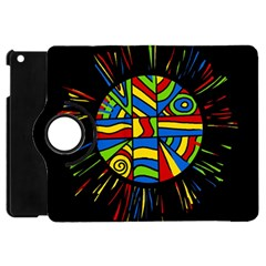 Colorful Bang Apple Ipad Mini Flip 360 Case by Valentinaart