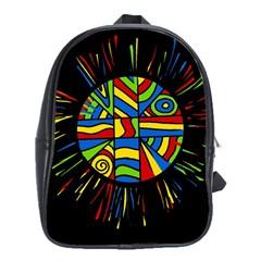 Colorful Bang School Bags (xl)
