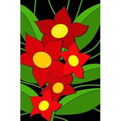 Red Flowers 5 5  X 8 5  Notebooks by Valentinaart