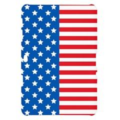 Usa Flag Samsung Galaxy Tab 10.1  P7500 Hardshell Case  by stockimagefolio
