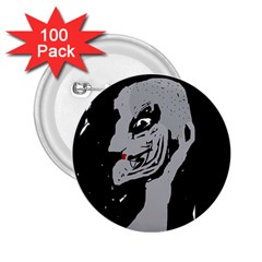 Horror 2 25  Buttons (100 Pack)  by Valentinaart