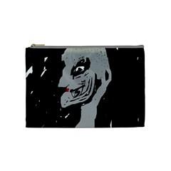 Horror Cosmetic Bag (medium)  by Valentinaart