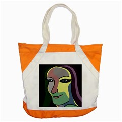 Lady Accent Tote Bag by Valentinaart