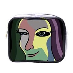 Lady Mini Toiletries Bags by Valentinaart