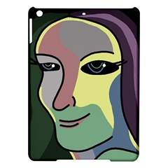 Lady Ipad Air Hardshell Cases by Valentinaart