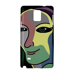 Lady Samsung Galaxy Note 4 Hardshell Case